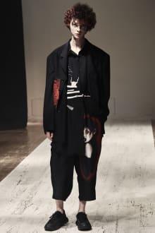 Yohji Yamamoto POUR HOMME 2022SS パリコレクション 画像18/28