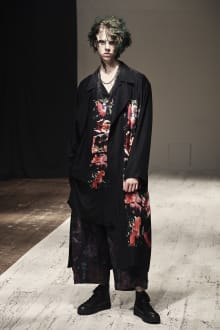 Yohji Yamamoto POUR HOMME 2022SS パリコレクション 画像20/28