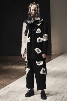 Yohji Yamamoto POUR HOMME 2022SS パリコレクション 画像21/28