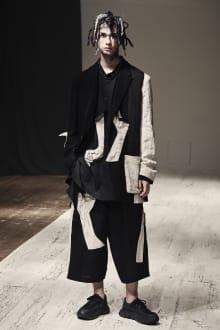Yohji Yamamoto POUR HOMME 2022SS パリコレクション 画像24/28