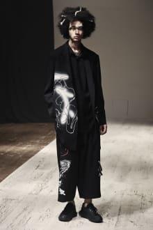 Yohji Yamamoto POUR HOMME 2022SS パリコレクション 画像25/28