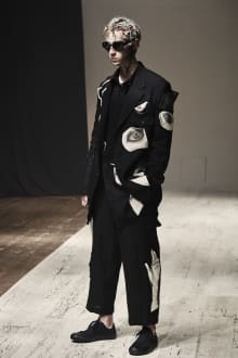 Yohji Yamamoto POUR HOMME 2022SS パリコレクション 画像26/28