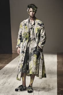 Yohji Yamamoto POUR HOMME 2022SS パリコレクション 画像28/28
