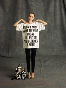 MOSCHINO 2014 Pre-Fall Collectionコレクション 画像18/31