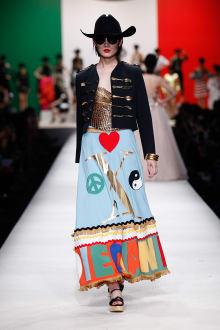 MOSCHINO 30周年回顧ファッションショー 2014SS Pre-Collectionコレクション 画像16/33