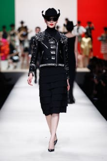 MOSCHINO 30周年回顧ファッションショー 2014SS Pre-Collectionコレクション 画像31/33