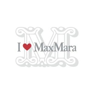 「I LOVE MAX MARA」イベントロゴ