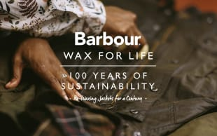 「Barbour. WAX FOR LIFE」