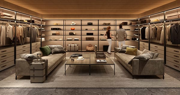 The Wardrobe for GLOBE ‒ TROTTER by Molteni&C  Image by APOLLO Architects & Associates