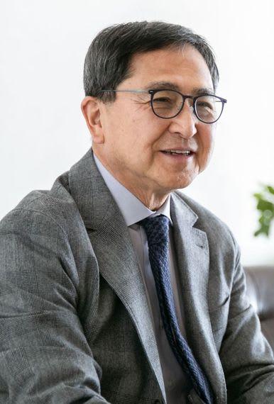 福田会長兼社長