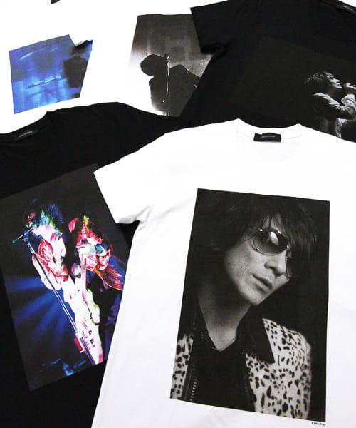吉井和哉×有賀幹夫×LITHIUM HOMME コラボTシャツ Image by LITHIUM HOMME