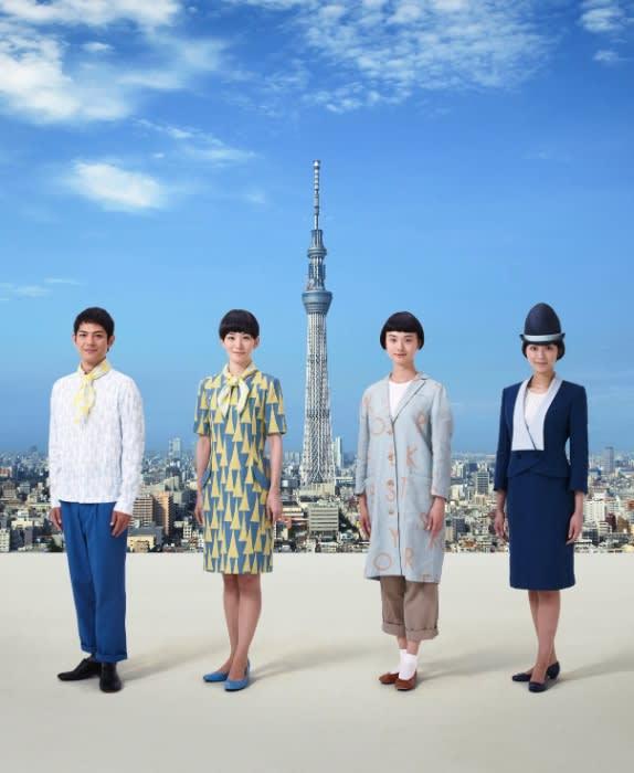 「東京スカイツリー」のユニフォーム公開 Image by 東武タワースカイツリー