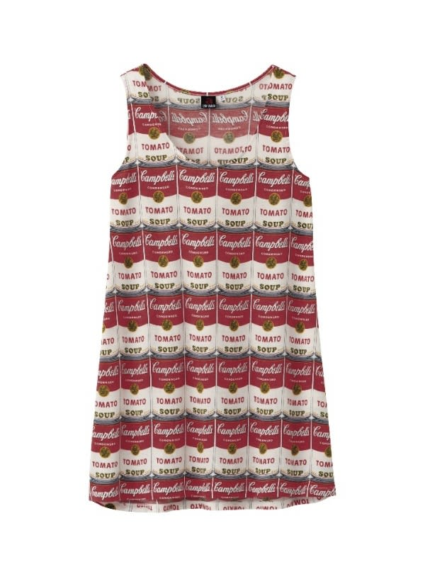 WOMEN ANDY WARHOL SLEEVELESS TUNIC 1,500円(税込) Image by ©/®/TM 2013 Andy Warhol Foundation for the Visual Arts, inc.