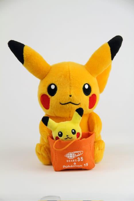 ©2011 Pokémon. ©1995-2011 Nintendo/Creatures Inc./GAME FREAK inc. Image by BEAMS