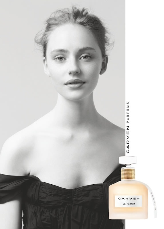 Carven Le Parfum メインビジュアル Image by CARVEN