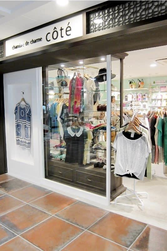 Echika fit 銀座の出店からスタートした「chambre de charme côté」 Image by FASHIONSNAP