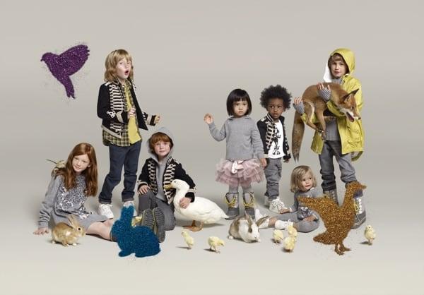 「Stella McCartney for babyGap & GapKids」2009ホリデーコレクション Image by GAP