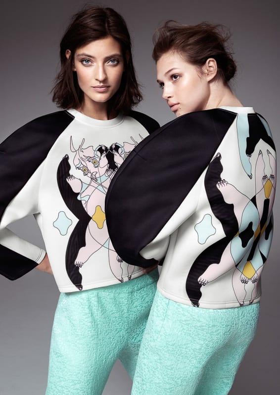 H&MとMinju Kimによるコレクション Image by H&M