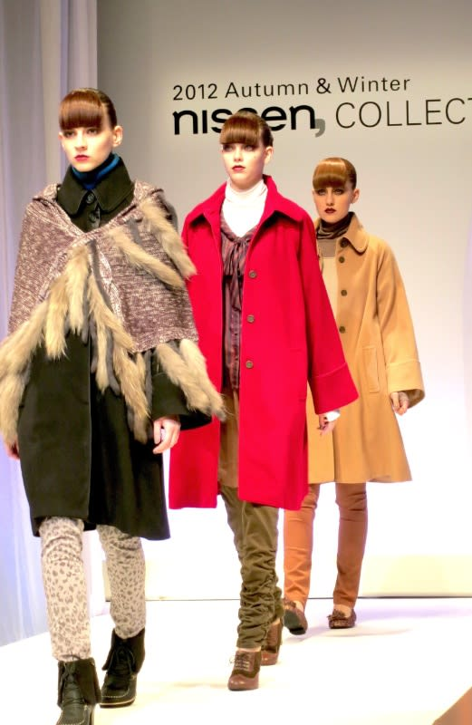 「2012 Autumn&Winter nissen, COLLECTION」発表 Image by FASHIONSNAP