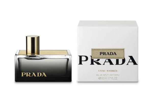 「PRADA L'Eau Ambrée」オードパルファム スプレー Image by PRADA
