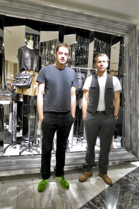 rag & boneデザイナー Marcus WainwrightとDavid Neville Image by FASHIONSNAP