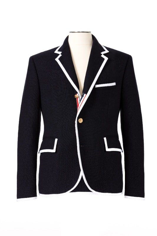 「THOM BROWNE」のメンズブレザー $149.99 Image by Target