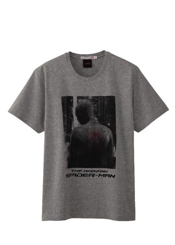「UT」×「アメイジング・スパイダーマン」コラボTシャツ Image by TM&(c)2012 MARVEL. The Amazing Spider-Man, the Movie (c)2012 Columbia Pictures Industries, Inc. All Rights Reserved.
