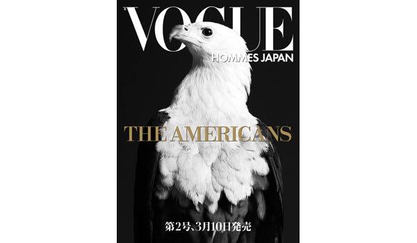 VOGUE HOMMES JAPAN VOL.2 発売間近 Image by Cond? Nast Publications Japan