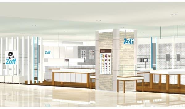 Zoff 上海梅龍鎮伊勢丹店 Image by Zoff