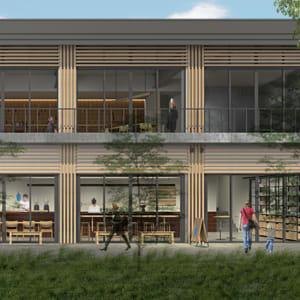 ブルーボトルコーヒー新店舗が渋谷に、ブランド初の公園内カフェ