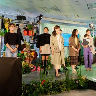 メルカリ ファッションショー
