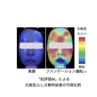 花王 肌評価 AI