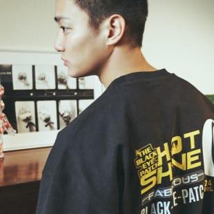H&M ブラックアイパッチ