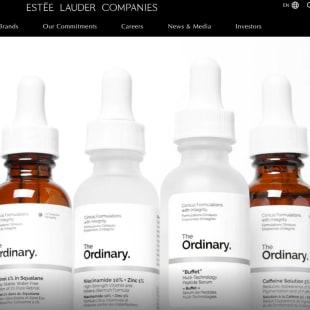 エスティ ローダー カンパニーズ 公式サイトトップ