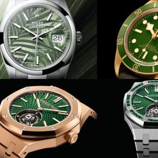 高級時計 緑 グリーン