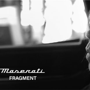 Fragment Design × Maserati ヴィジュアル
