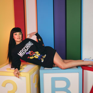 MOSCHINO SESAME STREET COLLECTION FEATURING KACEY