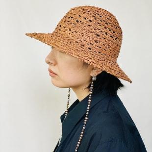 Hat cord neckless(税込3万5200円)