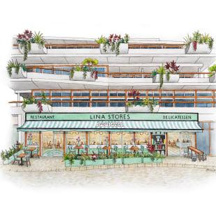 リナストアズ 日本上陸 海外1号店 2021年オープン