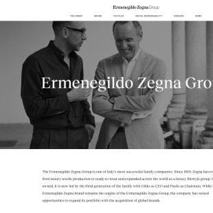 エルメネジルド ゼニアグループ