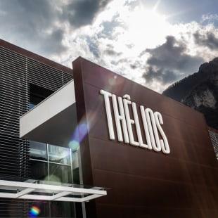 イタリアのアイウェア生産工場「テリオス」の外観