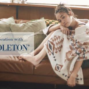 「collaboration with PENDLETON」のメインヴュアル