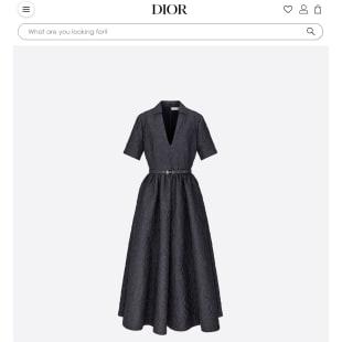 アンヌ・イダルゴ パリ市長が着用したディオール ロングドレス
