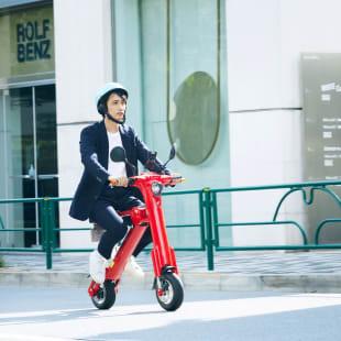 シェアロ シェアバイク 折りたたみ電動バイク