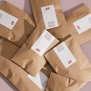H&M 紙製パッケージ