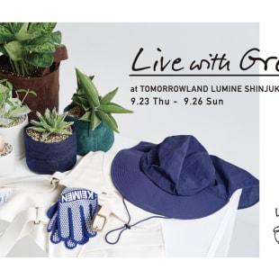 「LIVE WITH GREEN」メインヴィジュアル
