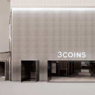 3COINS 原宿本店 オープン