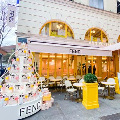 FENDI カフェ