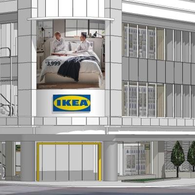 IKEA新宿 都心型店舗