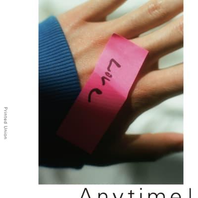 写真展「Anytime!」のメインヴィジュアル
